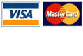 Accept all major credit cards